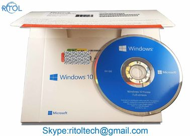 الصين شبابيك 10 Home Pack USB 32/64 Bit، OEM Win 10 Pro / Home شبابيك 10 Coa Key المزود
